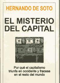 Libro EL MISTERIO DEL CAPITAL