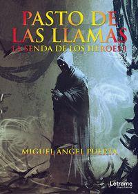 Libro PASTO DE LAS LLAMAS