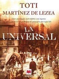 Libro LA UNIVERSAL