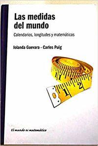 Libro LAS MEDIDAS DEL MUNDO