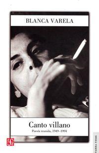 Libro CANTO VILLANO