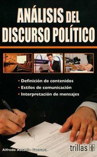 Libro ANÁLISIS DEL DISCURSO POLÍTICO