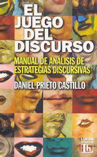 Libro EL JUEGO DEL DISCURSO