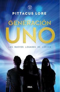 Libro GENERACIÓN UNO