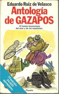 Libro ANTOLOGÍA DE GAZAPOS