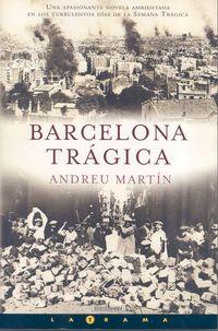 Libro BARCELONA TRÁGICA