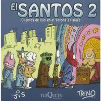 Libro CLIENTES DE LUJO EN EL TETONA'S PALACE (EL SANTOS #2)