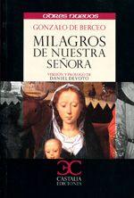 Libro MILAGROS DE NUESTRA SEÑORA
