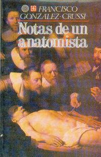 Libro NOTAS DE UN ANATOMISTA