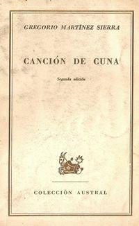 Libro CANCIÓN DE CUNA