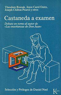 Libro CASTANEDA A EXÁMEN