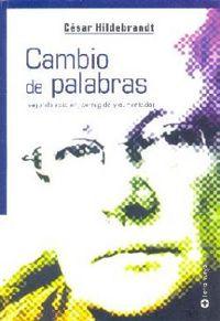 Libro CAMBIO DE PALABRAS