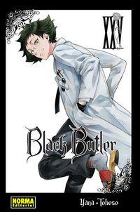 Libro BLACK BUTLER #25