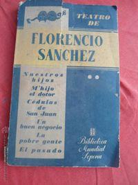 Libro El TEATRO DE FLORENCIO SÁNCHEZ