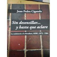 Libro SIN DESENSILLAR... Y HASTA QUE ACLARE: LA RESISTENCIA A LA DICTADURA, AEBU, 1973-1984