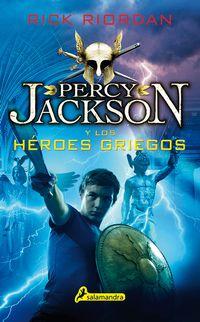 Libro PERCY JACKSON Y LOS HÉROES GRIEGOS