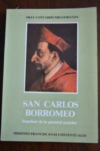 Libro SAN CARLOS BORROMEO, IMPULSOR DE LA PASTORAL POPULAR