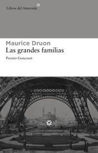 Libro LAS GRANDES FAMILIAS