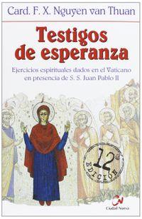 Libro TESTIGOS DE ESPERANZA