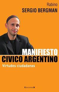 Libro MANIFIESTO CÍVICO ARGENTINO