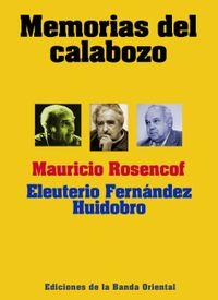 Libro MEMORIAS DEL CALABOZO