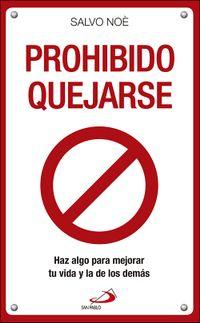 Libro PROHIBIDO QUEJARSE