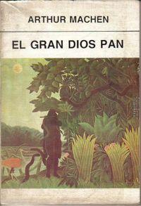 Libro EL GRAN DIOS PAN