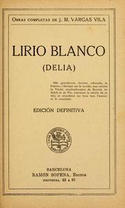 Libro LIRIO BLANCO: DELIA