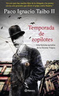 Libro TEMPORADA DE ZOPILOTES