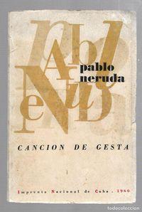 Libro CANCIÓN DE GESTA
