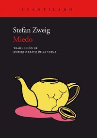 Libro MIEDO