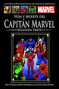 Libro VIDA Y MUERTE DEL CAPITÁN MARVEL: SEGUNDA PARTE