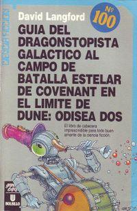 Libro GUÍA DEL DRAGONSTOPISTA GALÁCTICO AL CAMPO DE BATALLA ESTELAR DE COVENANT EN EL LÍMITE DE DUNE