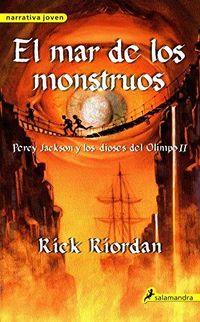 Libro EL MAR DE LOS MOUSTROS (PERCY JACKSON Y LOS DIOSES DEL OLIMPO #2)