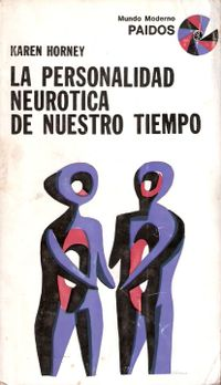 Libro LA PERSONALIDAD NEURÓTICA DE NUESTRO TIEMPO