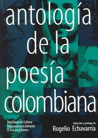 Libro ANTOLOGÍA DE LA POESÍA COLOMBIANA