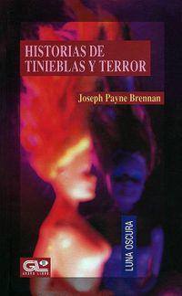 Libro HISTORIAS DE TINIEBLAS Y TERROR