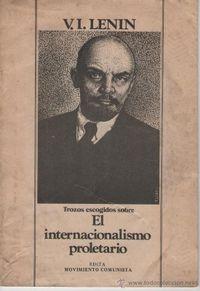 Libro SOBRE EL INTERNACIONALISMO PROLETARIO