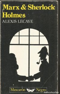 Libro MARX & SHERLOCK HOLMES