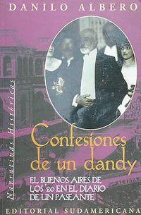 Libro CONFESIONES DE UN DANDY