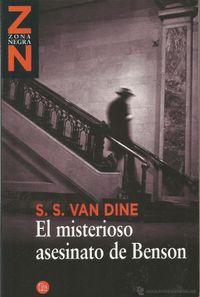Libro EL MISTERIOSO ASESINATO DE BENSON