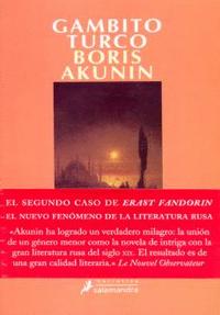 Libro GAMBITO TURCO