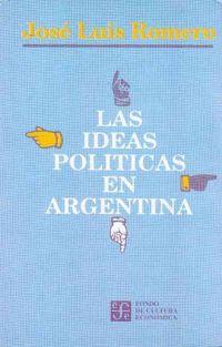 Libro LAS IDEAS POLÍTICAS EN ARGENTINA