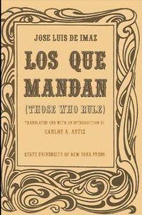 Libro LOS QUE MANDAN