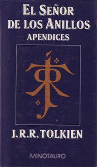 Libro APENDICES (EL SEÑOR DE LOS ANILLOS #4)