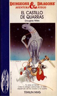 Libro EL CASTILLO DE QUARRAS (ADVANCED DUNGEONS & DRAGONS, AVENTURA-JUEGO #2)