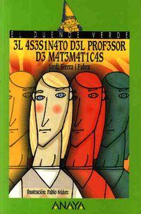 Libro 3L 4S3S1N4T0 D3L PR0F3S0R D3 M4T3M4T1C4S