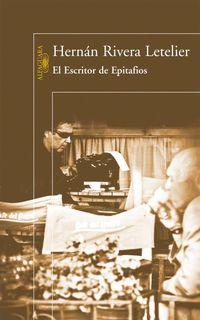 Libro EL ESCRITOR DE EPITAFIOS