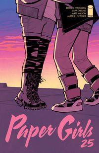 Libro PAPER GIRLS #25