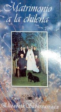 Libro MATRIMONIO A LA CHILENA